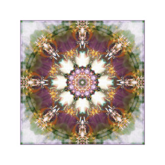 Mandalas from the Heart of Change 1 Wrapped Canvas