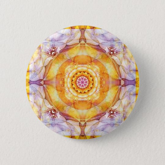 Mandalas from the Heart of Change 20, Gift Items 2 Inch Round Button