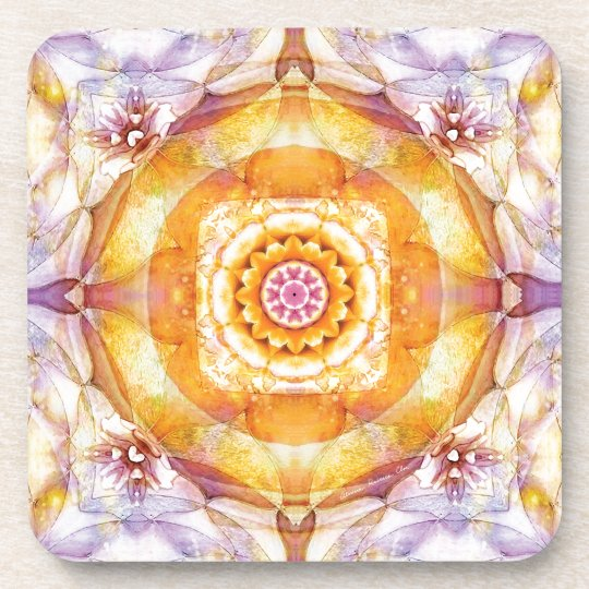 Mandalas from the Heart of Change 20, Gift Items Coaster