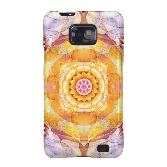 Mandalas from the Heart of Change 20, Gift Items Samsung Galaxy S2 Cover