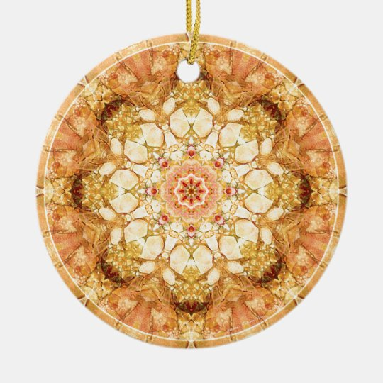 Mandalas from the Heart of Change 21, Gift Items Ceramic Ornament