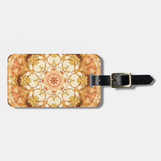 Mandalas from the Heart of Change 21, Gift Items Luggage Tag