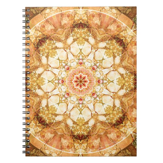 Mandalas from the Heart of Change 21, Gift Items Spiral Notebook