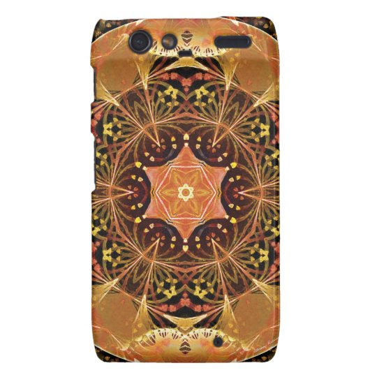 Mandalas from the Heart of Change 22, Gift Items Droid RAZR Cover