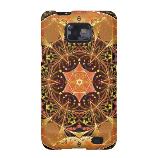 Mandalas from the Heart of Change 22, Gift Items Galaxy S2 Cover