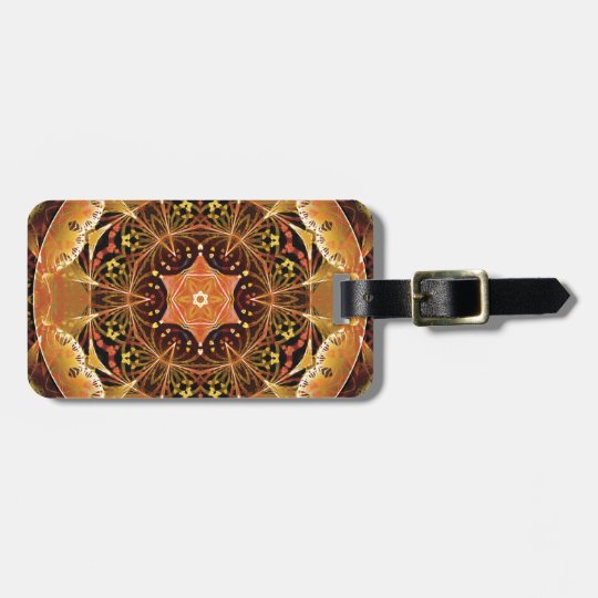 Mandalas from the Heart of Change 22, Gift Items Luggage Tag
