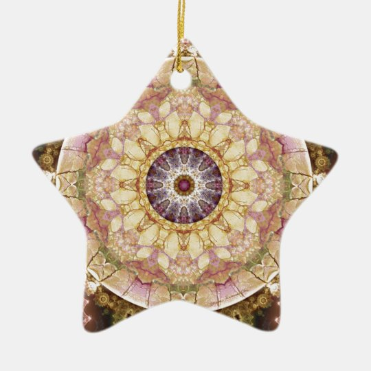 Mandalas from the Heart of Change 2, Gift Items Ceramic Ornament