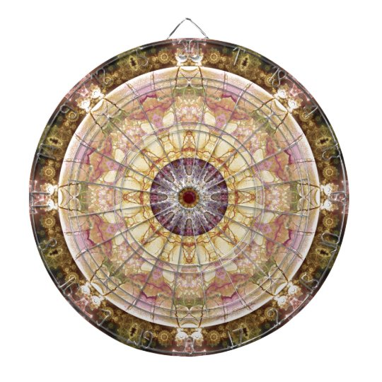 Mandalas from the Heart of Change 2, Gift Items Dartboard