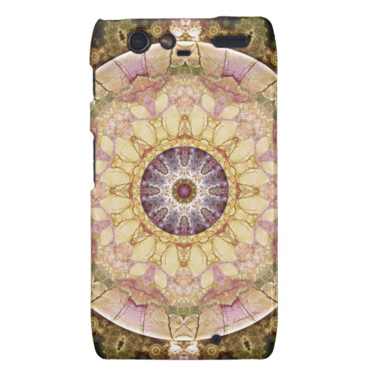 Mandalas from the Heart of Change 2, Gift Items Droid RAZR Cover