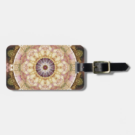 Mandalas from the Heart of Change 2, Gift Items Luggage Tag