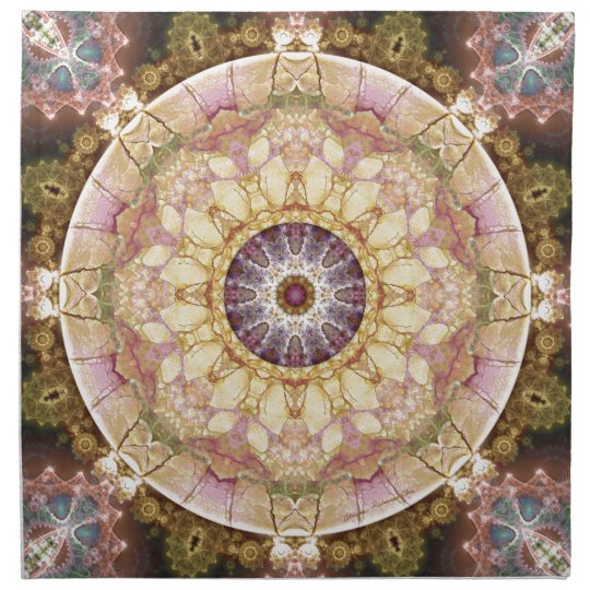 Mandalas from the Heart of Change 2, Gift Items Napkin