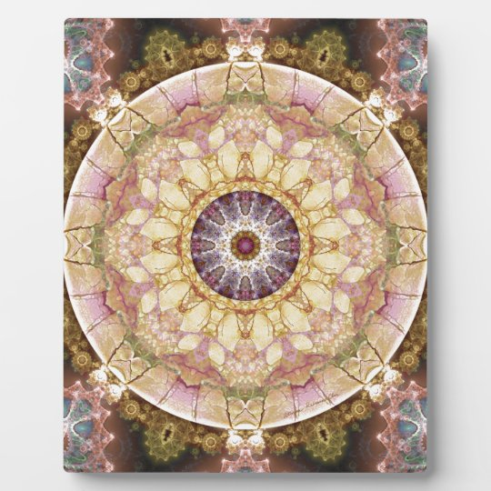 Mandalas from the Heart of Change 2, Gift Items Plaque