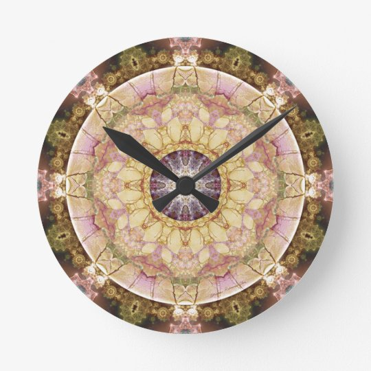 Mandalas from the Heart of Change 2, Gift Items Round Clock