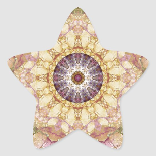 Mandalas from the Heart of Change 2, Gift Items Star Sticker