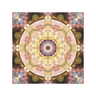 Mandalas from the Heart of Change 2 Wrapped Canvas