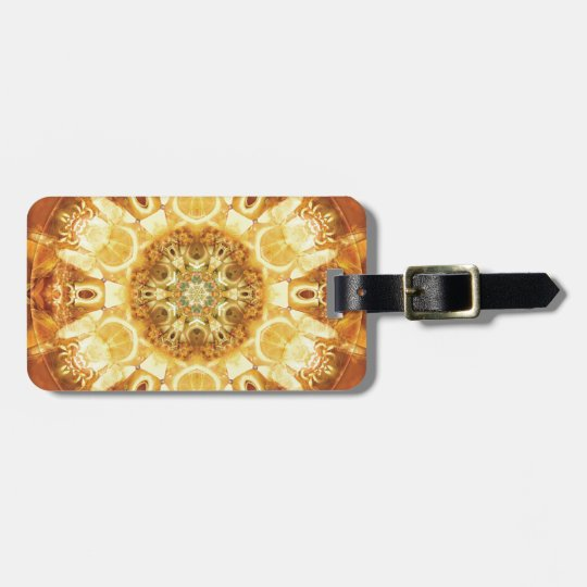 Mandalas from the Heart of Change 3, Gift Items Luggage Tag