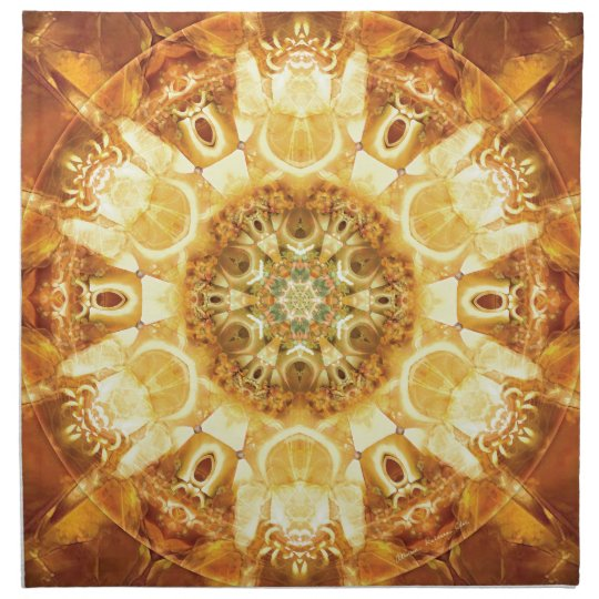 Mandalas from the Heart of Change 3, Gift Items Napkin