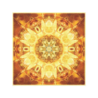 Mandalas from the Heart of Change 3 Wrapped Canvas