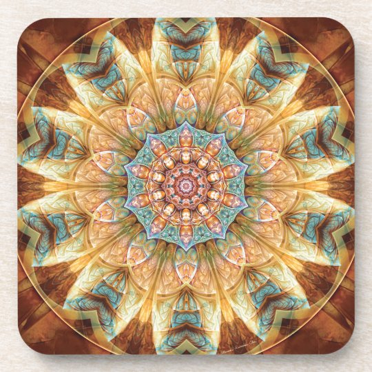 Mandalas from the Heart of Change 4, Gift Items Coaster
