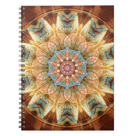 Mandalas from the Heart of Change 4, Gift Items Notebook