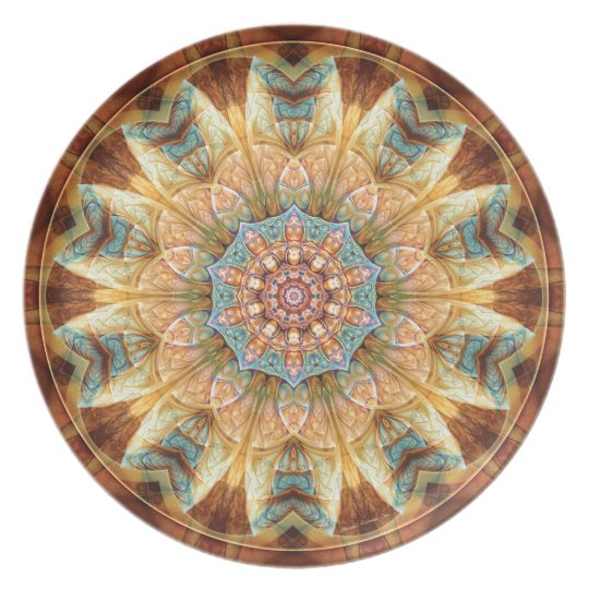 Mandalas from the Heart of Change 4, Gift Items Plate