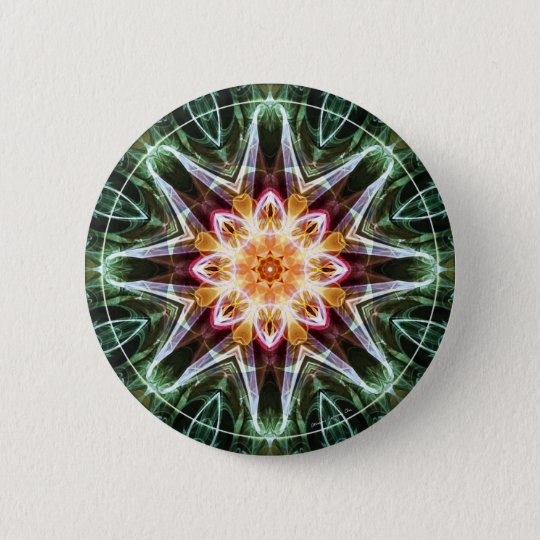 Mandalas from the Heart of Change 5, Gift Items 2 Inch Round Button