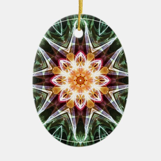 Mandalas from the Heart of Change 5, Gift Items Ceramic Ornament