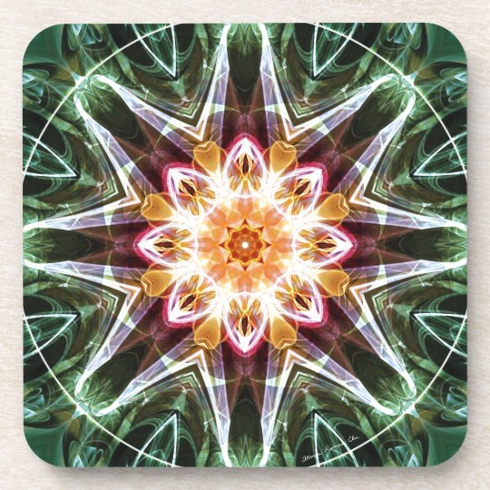Mandalas from the Heart of Change 5, Gift Items Coaster