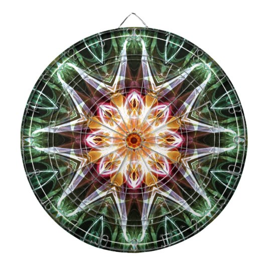 Mandalas from the Heart of Change 5, Gift Items Dartboard