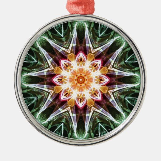 Mandalas from the Heart of Change 5, Gift Items Metal Ornament
