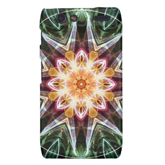 Mandalas from the Heart of Change 5, Gift Items Motorola Droid RAZR Covers