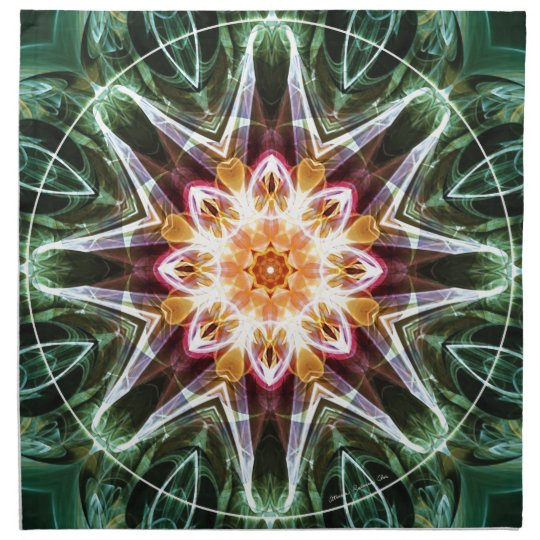 Mandalas from the Heart of Change 5, Gift Items Napkin
