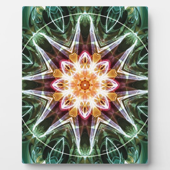Mandalas from the Heart of Change 5, Gift Items Plaque