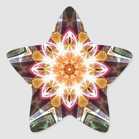 Mandalas from the Heart of Change 5, Gift Items Star Sticker