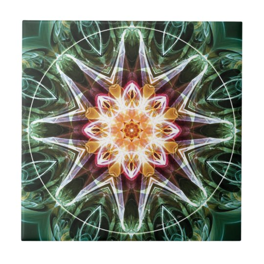 Mandalas from the Heart of Change 5, Gift Items Tile