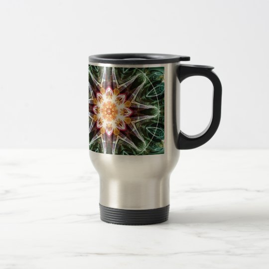 Mandalas from the Heart of Change 5, Gift Items Travel Mug