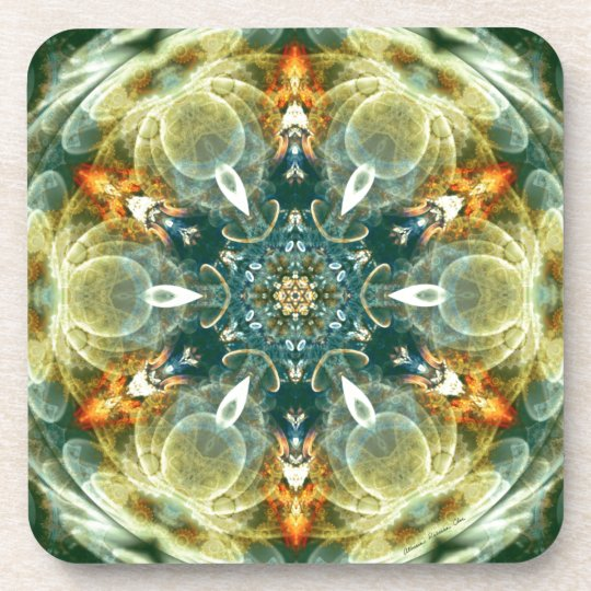 Mandalas from the Heart of Change 6, Gift Items Coaster