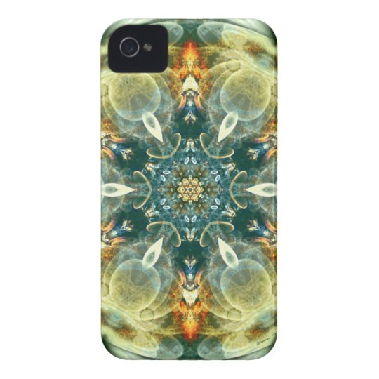 Mandalas from the Heart of Change 6, Gift Items iPhone 4 Case-Mate Cases