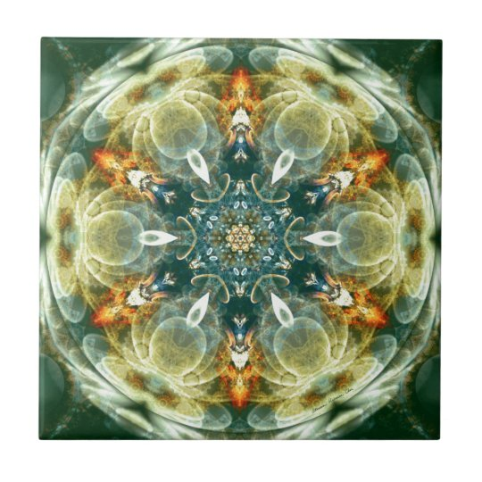 Mandalas from the Heart of Change 6, Gift Items Tile