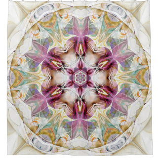 Mandalas from the Heart of Change 7 Shower Curtain