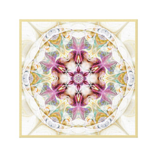 Mandalas from the Heart of Change 7 Wrapped Canvas