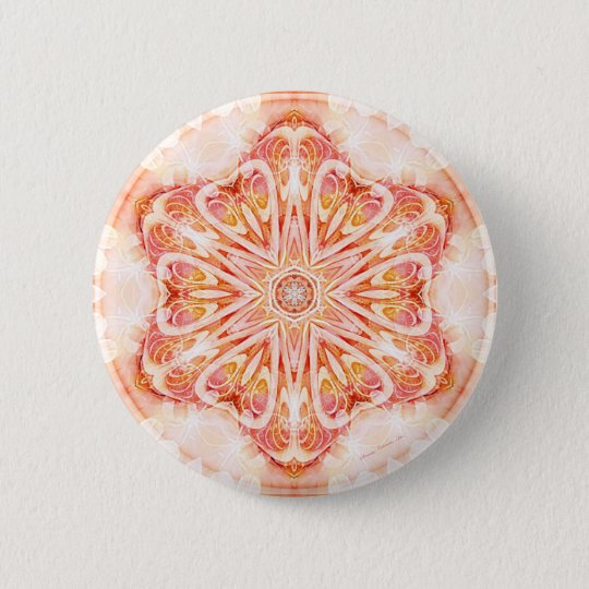 Mandalas from the Heart of Change 8, Gift Items 2 Inch Round Button