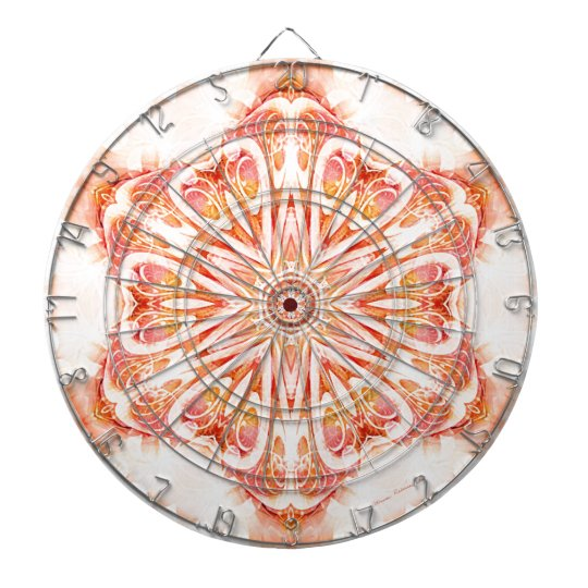 Mandalas from the Heart of Change 8, Gift Items Dartboard