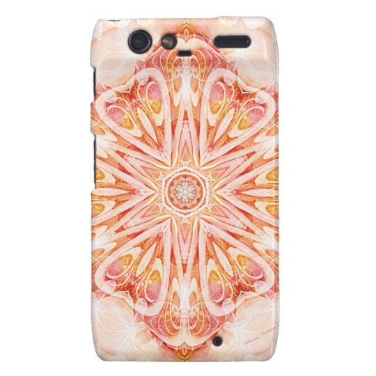 Mandalas from the Heart of Change 8, Gift Items Droid RAZR Cover