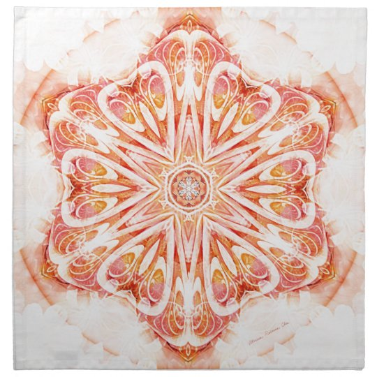 Mandalas from the Heart of Change 8, Gift Items Napkin