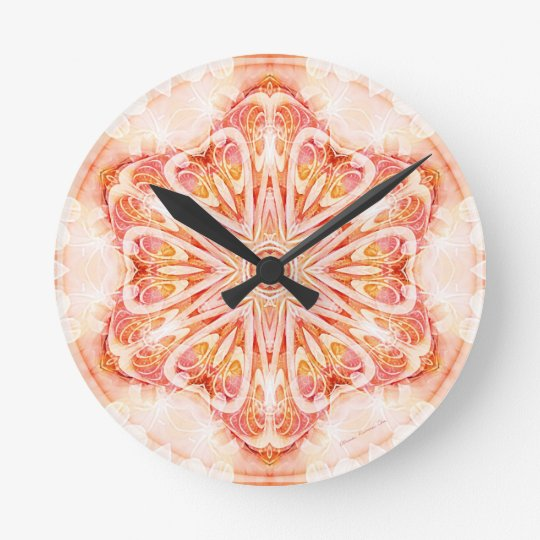 Mandalas from the Heart of Change 8, Gift Items Round Clock