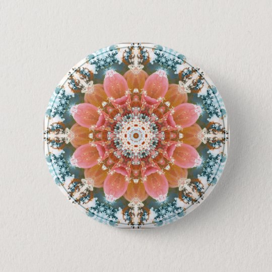 Mandalas from the Heart of Change 9, Gift Items 2 Inch Round Button