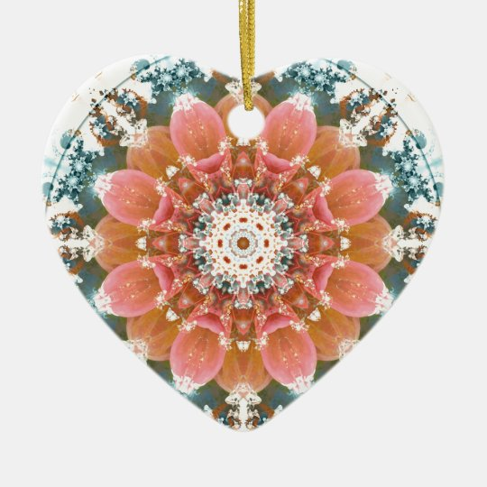 Mandalas from the Heart of Change 9, Gift Items Ceramic Ornament