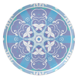 Mandalas from the Heart of Freedom 10 Gifts Plate