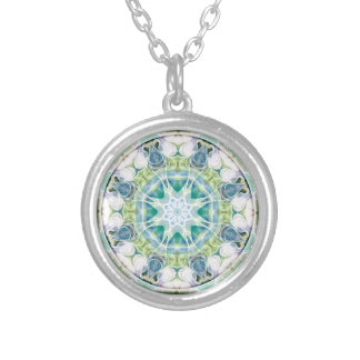 Mandalas from the Heart of Freedom 12 Gifts Silver Plated Necklace